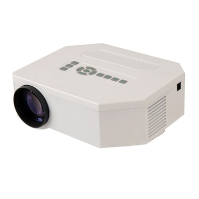 VOX VP01 High Quality 100 Inch Screen LED Home Cinema Projector White Price in India