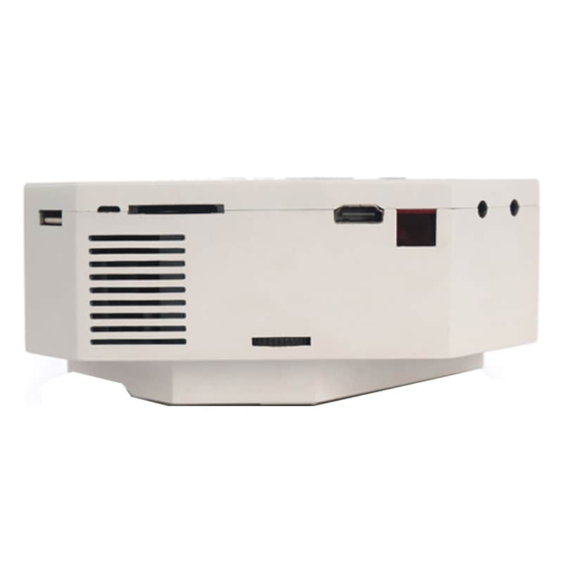 Buy VOX VP01 High Quality 100 Inch Screen LED Home Cinema Projector White online