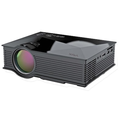 VOX VP03 High Quality 130 inch Screen LED Home Cinema Projector with WiFi Black Price in India