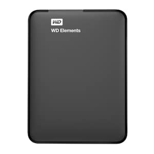 WD Elements 500 GB Portable Hard Disk Black