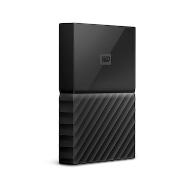 WD My Passport 1TB Portable External Hard Drive 3.0 USB Black Price in India