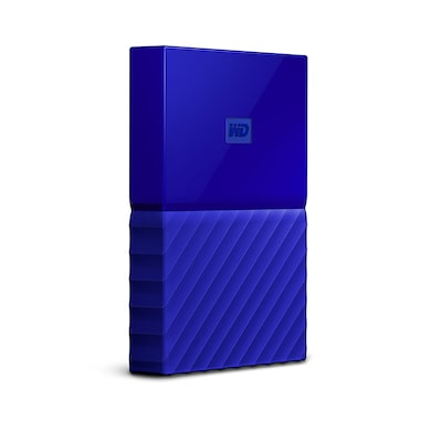 WD My Passport 1TB Portable External Hard Drive 3.0 USB Blue Price in India