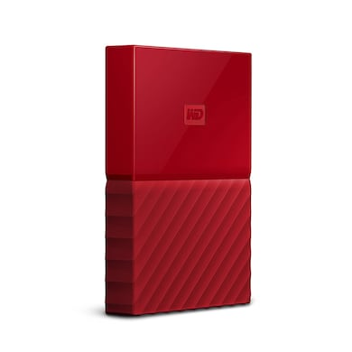 WD My Passport 1TB Portable External Hard Drive 3.0 USB Red Price in India