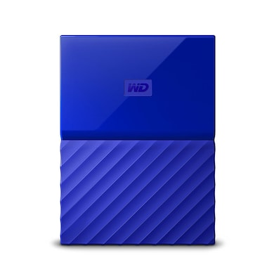 WD My Passport 2TB Portable External Hard Drive 3.0 USB Blue Price in India