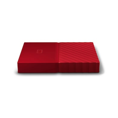 WD My Passport 2TB Portable External Hard Drive 3.0 USB Red Price in India