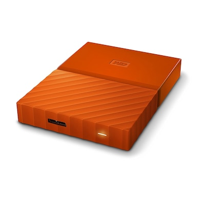 WD My Passport 4TB Portable External Hard Drive Orange Price in India