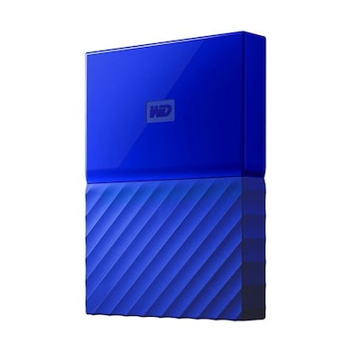 WD My Passport 4TB Portable External Hard Drive Blue Price in India