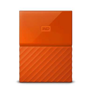 WD My Passport 1TB Portable External Hard Drive 3.0 USB Orange Price in India