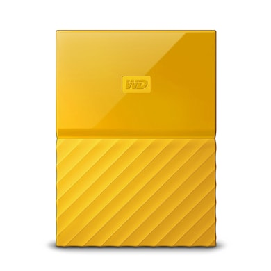 WD My Passport 1TB Portable External Hard Drive 3.0 USB Yellow Price in India