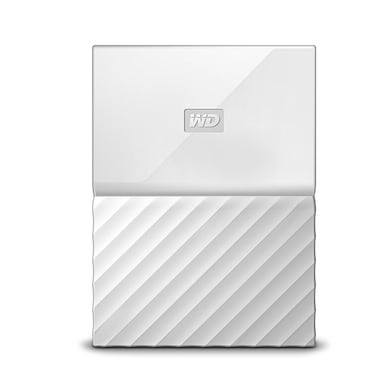 WD My Passport 1TB Portable External Hard Drive 3.0 USB White Price in India