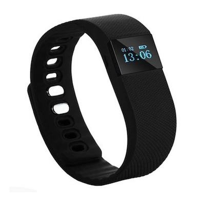 XCCESS SB166 Bluetooth Smart Fitness Band Black Price in India