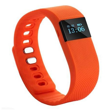 XCCESS SB166 Bluetooth Smart Fitness Band Orange Price in India