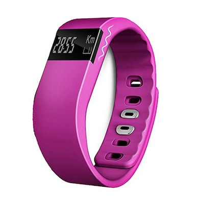 XCCESS SB166 Bluetooth Smart Fitness Band Pink Price in India
