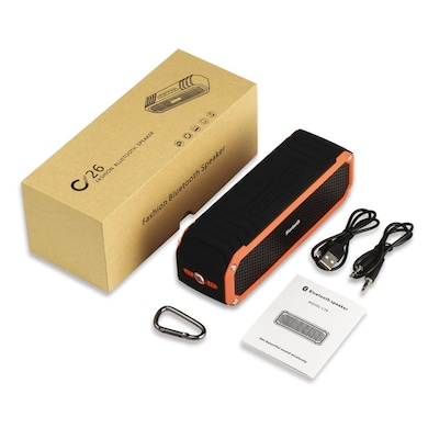 Xoofer Rock C26 Mobile/Tablet Bluetooth Speaker Orange Price in India
