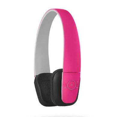 Xoofer Vita F1 Bluetooth Headphones Pink Price in India