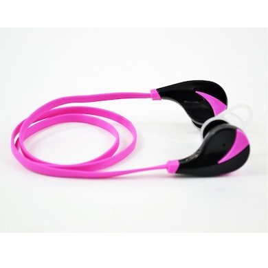 Xoofer Yuva RQ5 Sports Bluetooth Headphones Pink Price in India