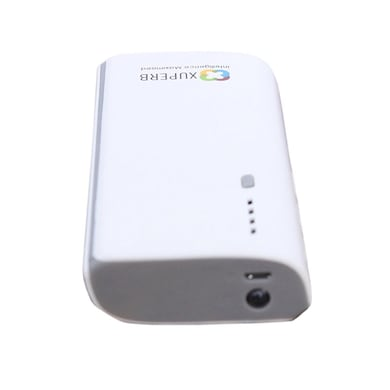 Xuperb M5-130 3 USB Port Power Bank 13000 mAh White and Grey images, Buy Xuperb M5-130 3 USB Port Power Bank 13000 mAh White and Grey online at price Rs. 899