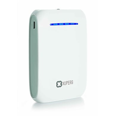 Xuperb XU-ALPHA 104 Power Bank 10400 mAh White and Grey images, Buy Xuperb XU-ALPHA 104 Power Bank 10400 mAh White and Grey online at price Rs. 974