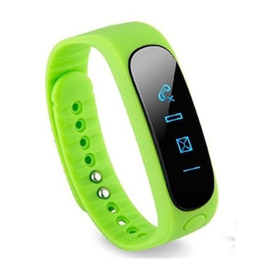 Xzenza XZSB16001 Smart Sports Bracelet Green Price in India