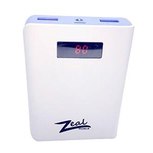 Buy Zeal Z-10 10400 mAh Digital  Power Bank Online