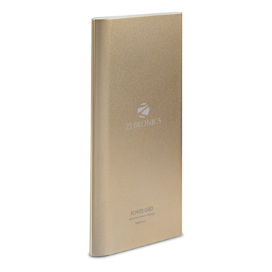 Zebronics Pg8000 Power Bank Gold Price In India Buy Zebronics