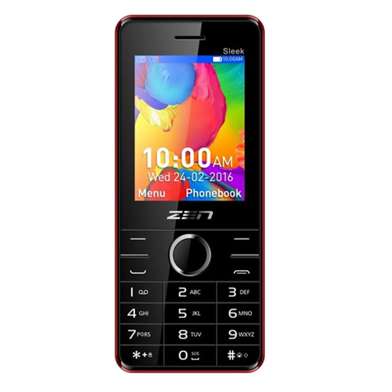 Buy Zen Z10 Sleek Red online