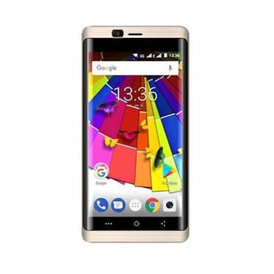 Ziox Astra Curve 4G (Gold, 2GB RAM, 16GB) Price in India