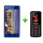 Buy Ziox Duopix F9+Ziox ZX225 Combo Blue and Red Online
