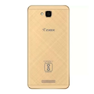 Ziox Quiq Wonder 4G (Gold, 512MB RAM, 8GB) Price in India