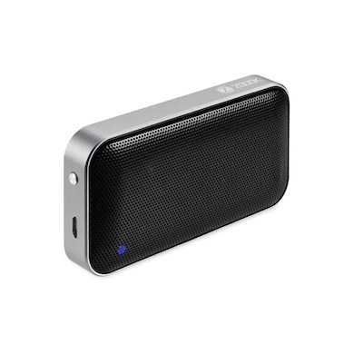 Zoook Rocker Pocket Dynamo 6W Ultra Crisp Metal Body Bluetooth Speaker Black Price in India