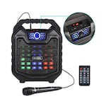 Buy Zoook Rocker Thunder 2 30 watts Karaoke Bluetooth Speaker with Remote and Wired Mic Black Online
