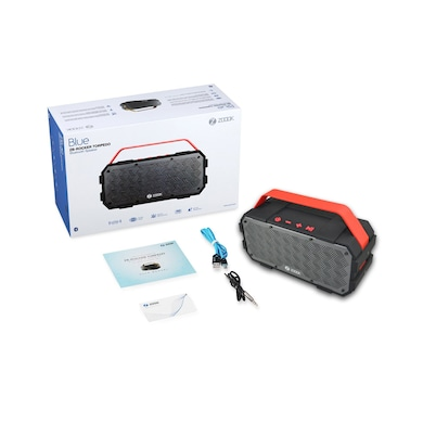 Zoook Rocker Torpedo Bluetooth Speakers Black and Red Price in India