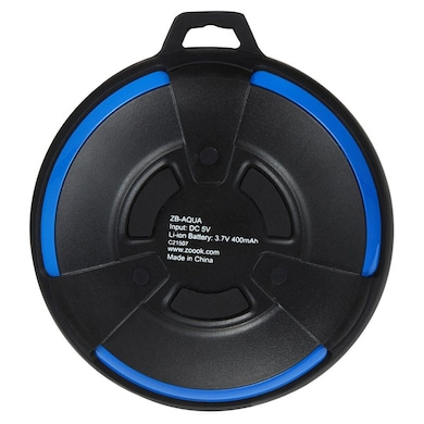 Zoook ZB-AQUA Portable Bluetooth Speaker Black and Blue Price in India