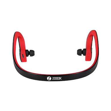 Zoook ZB-BNB200 Bluetooth FIT Neckband Headset Black and Red Price in India