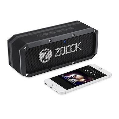 Zoook ZB-Rocker Armor XL Portable Rugged Waterproof Bluetooth Stereo Speaker Black Price in India