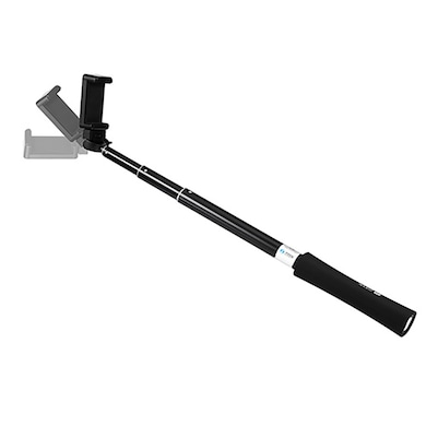 Zoook ZB-SPB Bluetooth Selfie Stick With Powerbank and Torch Black Price in India