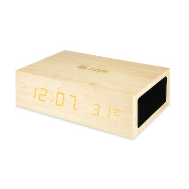Zoook ZB-TIMEBLUE Bluetooth Speaker Wooden Price in India