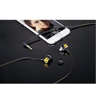 Zoook ZM-E22 Universal Earphone with Mic Gold Price in India