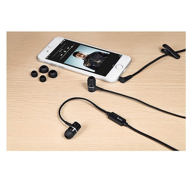 Zoook ZM-E4M In The Ear Headset With Mic Black Price in India