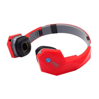 Zoook ZM-H15 Headset With Mic Red Price in India