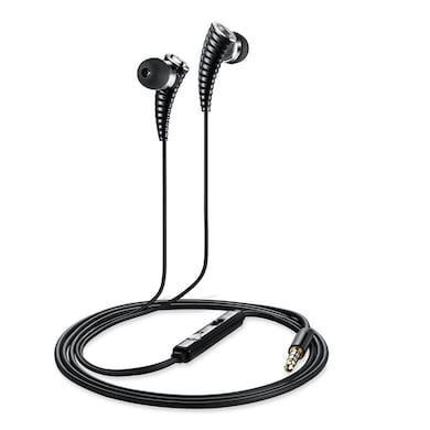 ZoooK ZM-Rocker RDX I1 In Ear Headset With Mic Black Price in India