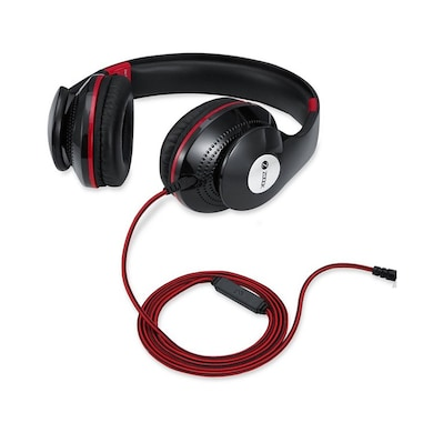 Zoook ZM-Rocker RDX01 Over Ear Wired Headset With Mic Black Price in India