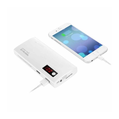 Zoook ZP-PB13000L Power Bank 13000 mAh White Price in India