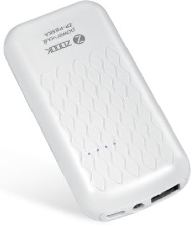 Zoook ZP-PB5KA 5000 mAh Portable Powerbank White images, Buy Zoook ZP-PB5KA 5000 mAh Portable Powerbank White online
