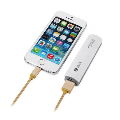 Zoook ZT-BIC1M Braided Lightning Cable Gold Price in India
