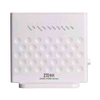 ZTE H108N 300 Mbps WiFi Modem White Price in India