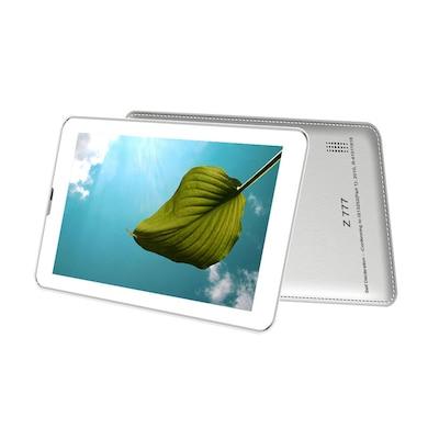 Zync Dual Z777 Tablet White, 4 GB Price in India