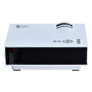 Zync P 100 PLUS LED Corded Portable Projector 800 lm White Price in India