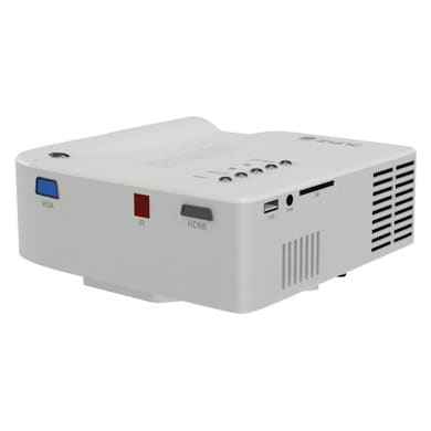 Zync P100 56 lm LED Corded Portable Projector White Price in India