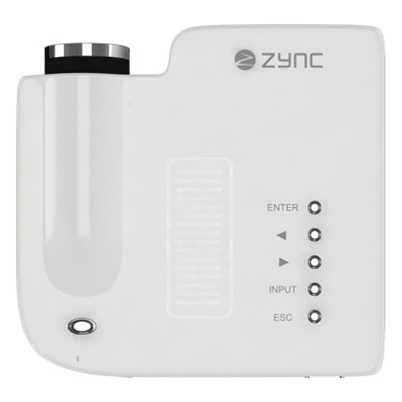 Buy Zync P100 56 lm LED Corded Portable Projector White online